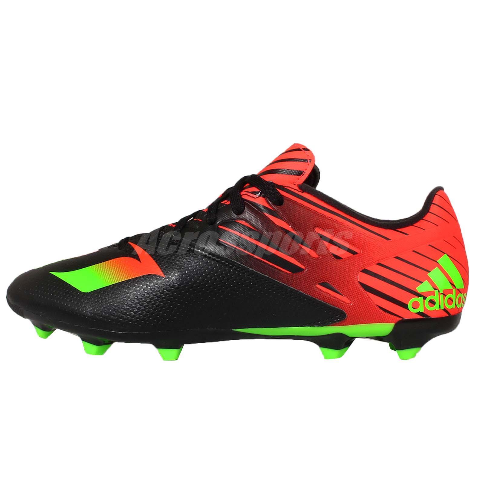 adidas messi 15 3 soccer lionel messi black mens