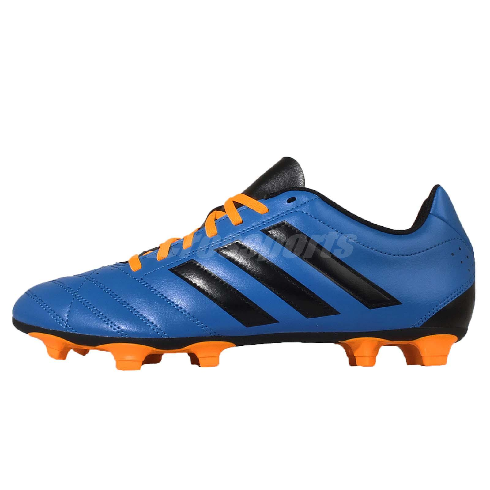 adidas goletto v fg blue black yellow mens soccer shoes. Black Bedroom Furniture Sets. Home Design Ideas