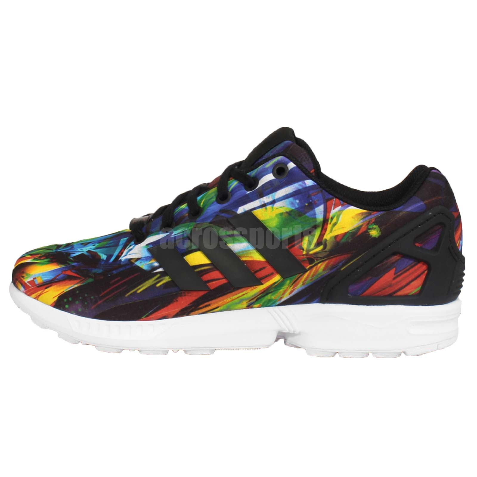 Rainbow Colored Adidas Shoes