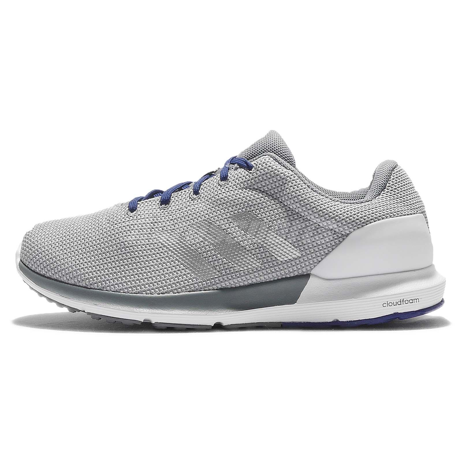 adidas Cosmic M Grey Silver White Mens Running Shoes Sneakers Trainers AQ2186