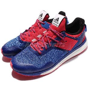 Adidas Shoes Blue And Red