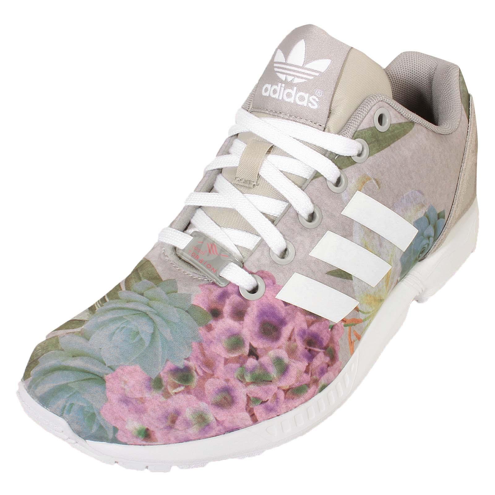 Adidas Originals Samoa Grey White Floral Shoe