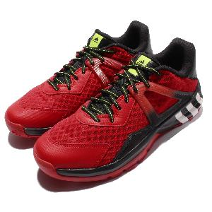 Adidas Crazyquick 3.5 Street Black Red Mens Basketball Shoes Sneakers AQ8483
