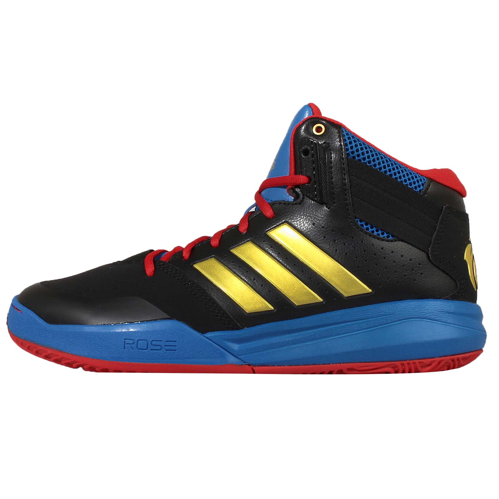 adidas derrick rose 773 red black mens basketball shoes