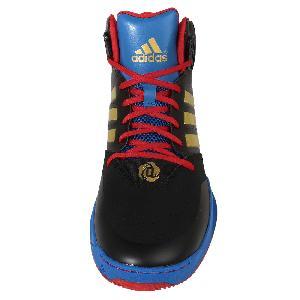 Adidas D Rose 773 IV TD Derick Rose Black Navy Gold Mens Basketball Shoes AQ8489