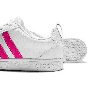 Adidas Neo Advantage White Pink