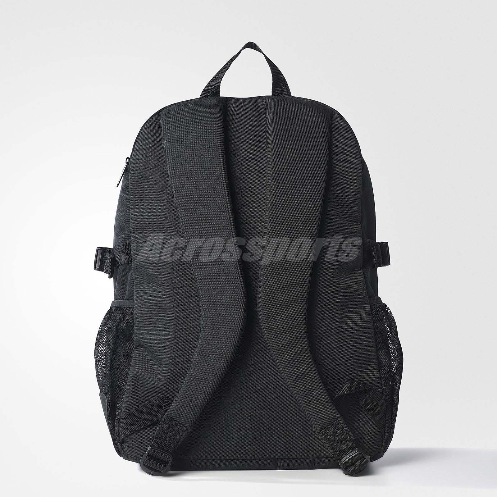 9d5200f50ca6 Buy adidas black and white backpack   OFF68% Discounted