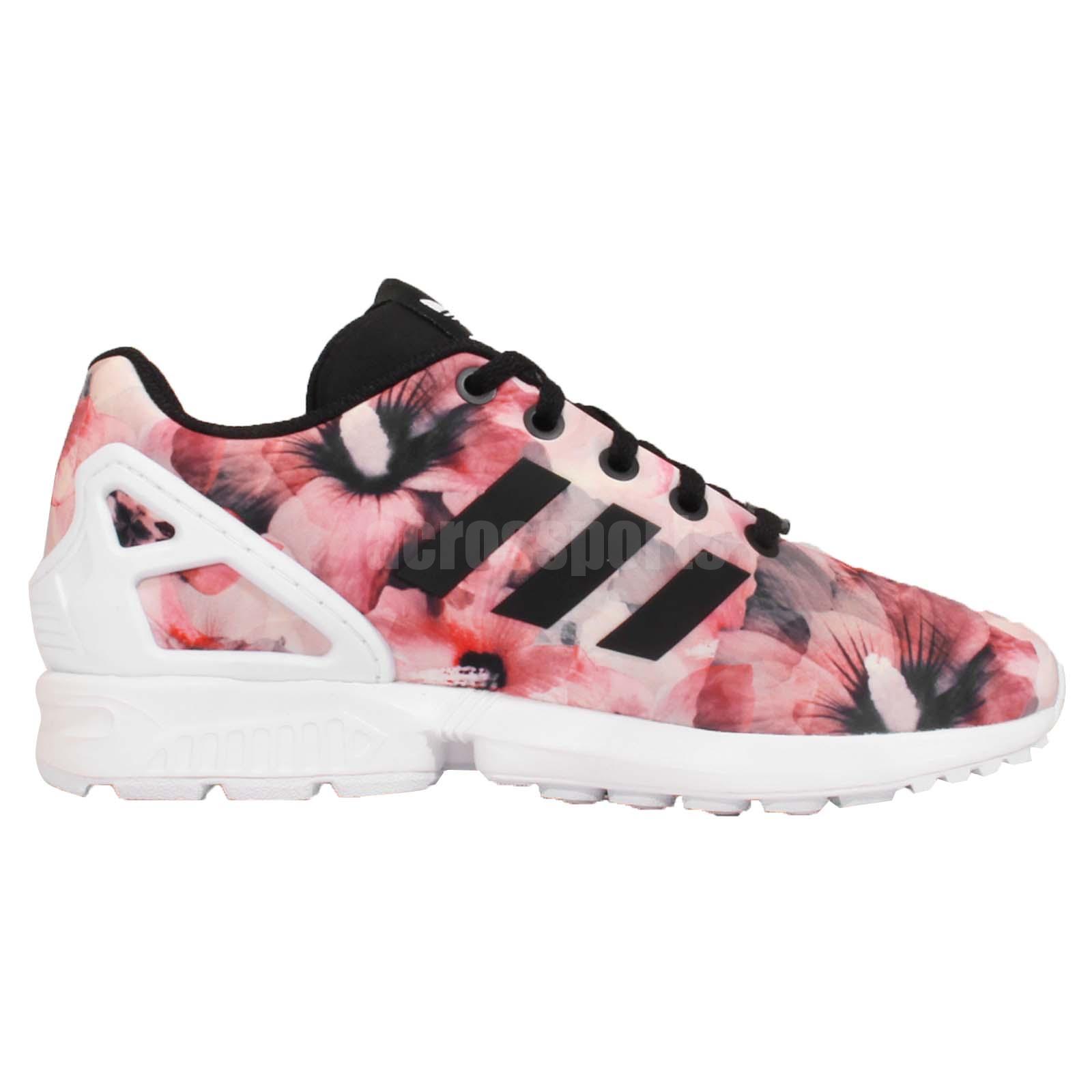 adidas flux floral rosa