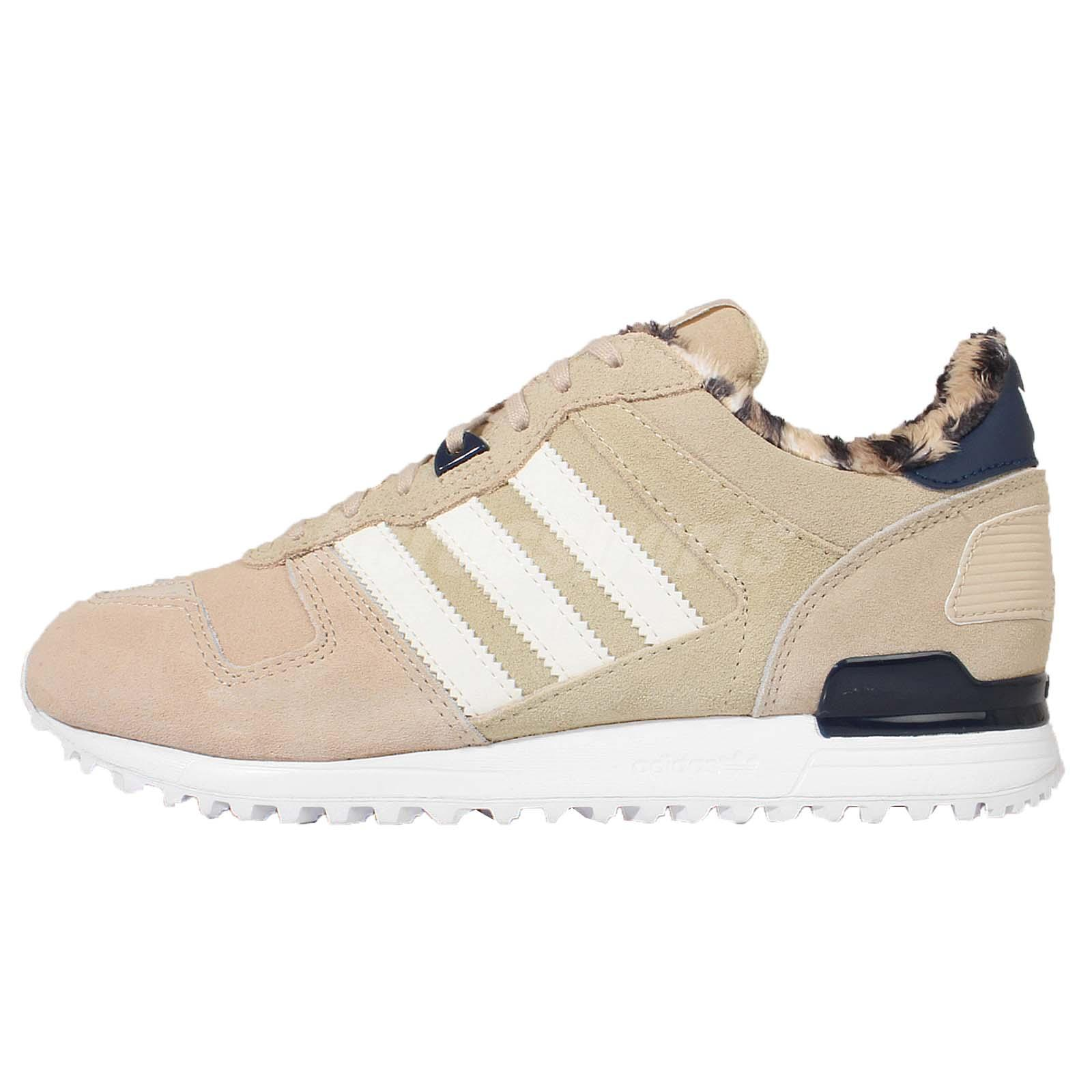 adidas Originals ZX 700 W Beige Leopard Womens Casual Shoes Sneakers B25719