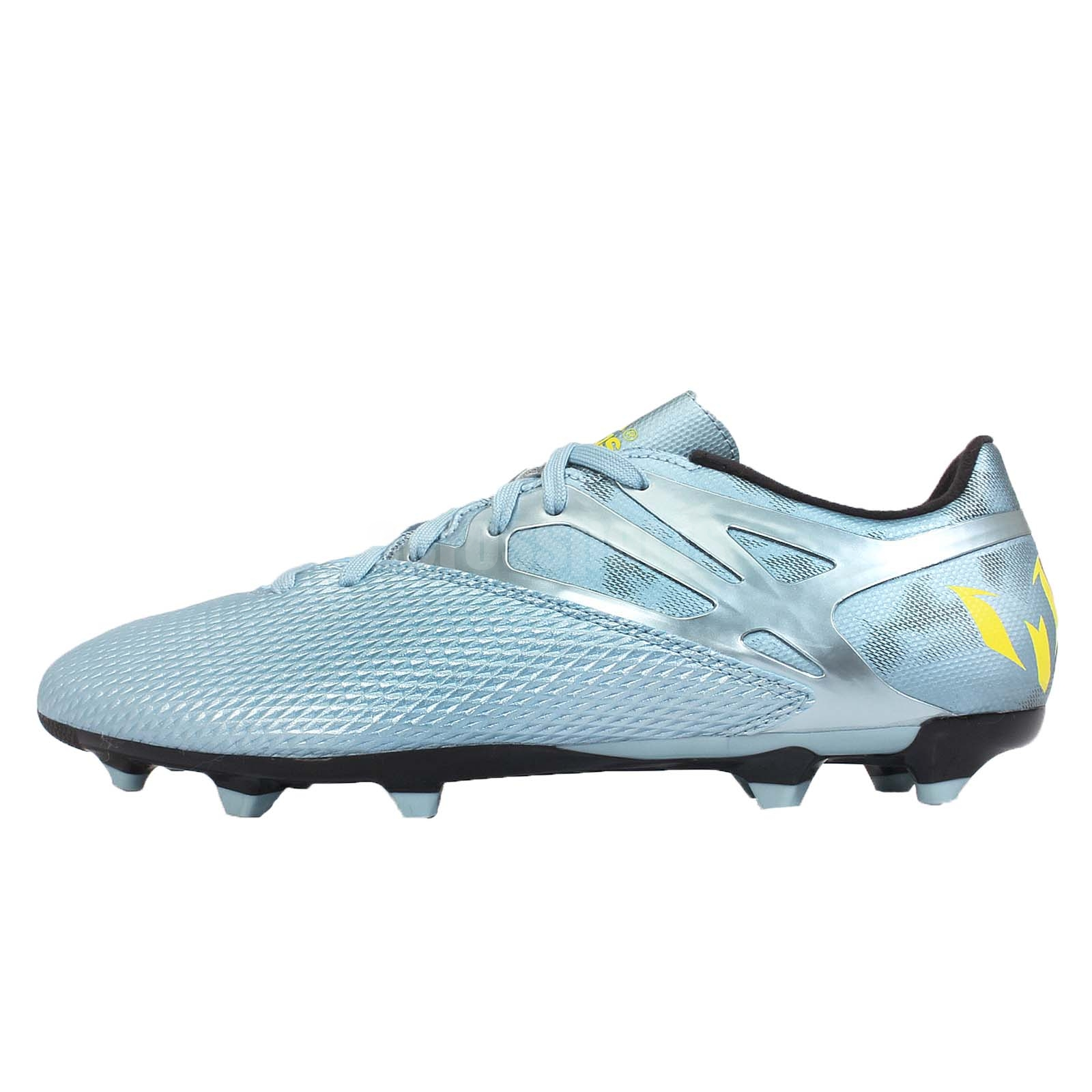 adidas messi 15 3 fg ag lionel messi blue mens soccer