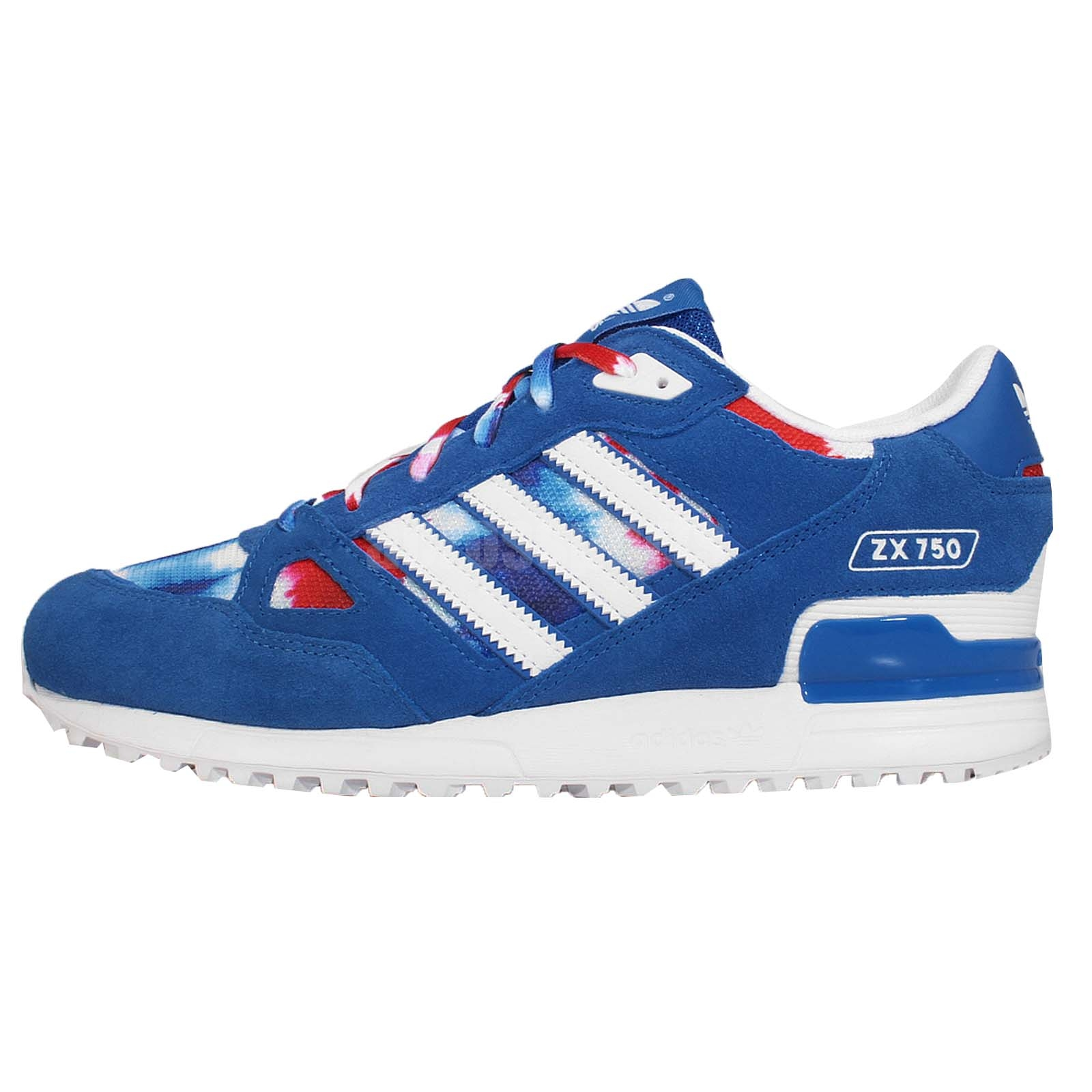 adidas zx 750 blue red white