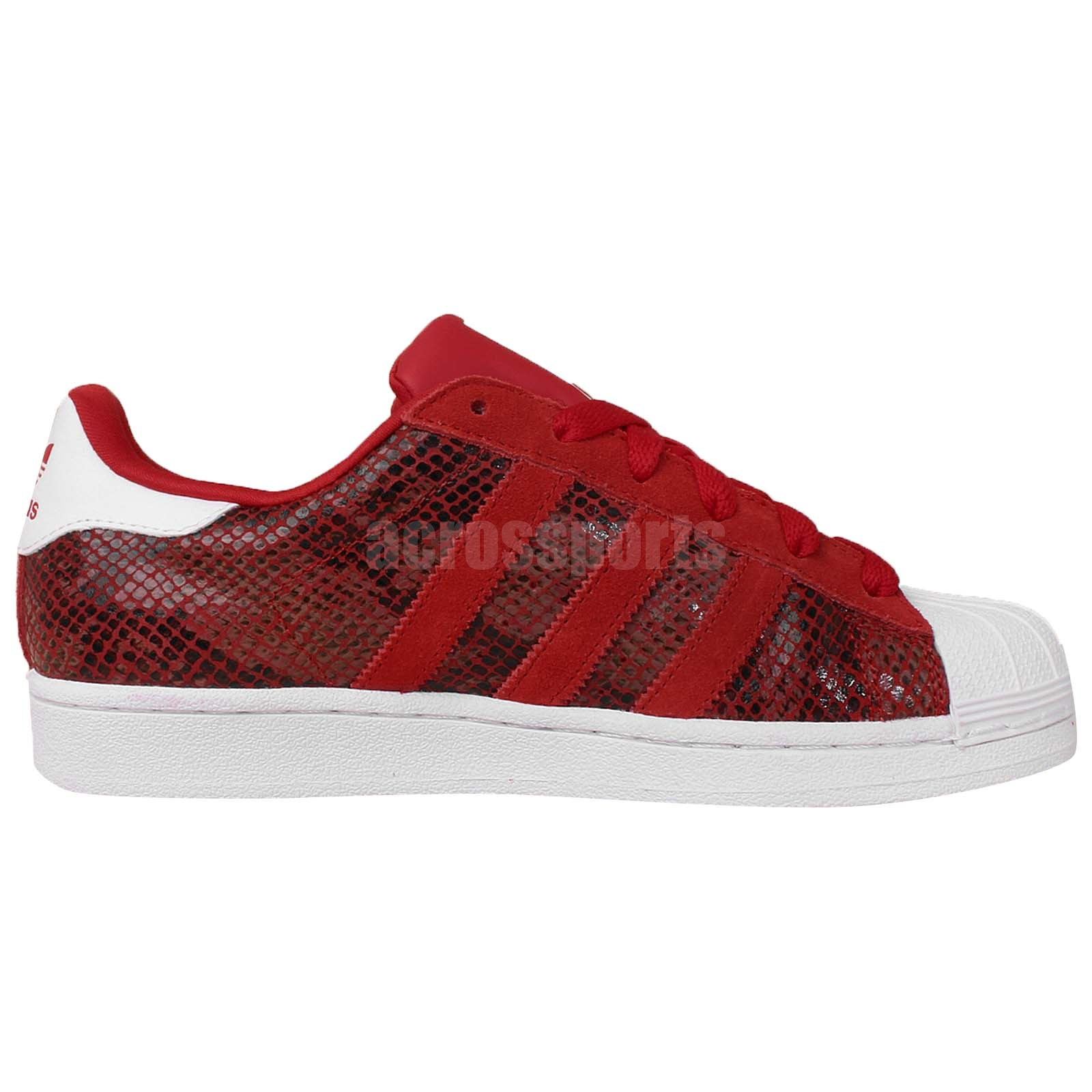 adidas superstar croco rouge