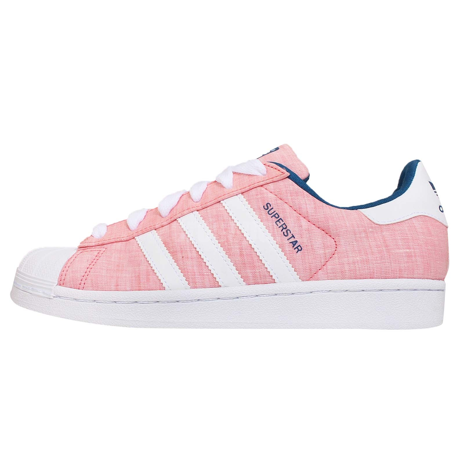 adidas originals superstar w pink blue womens classic. Black Bedroom Furniture Sets. Home Design Ideas