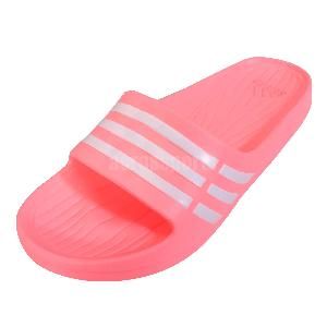 pink adidas slippers