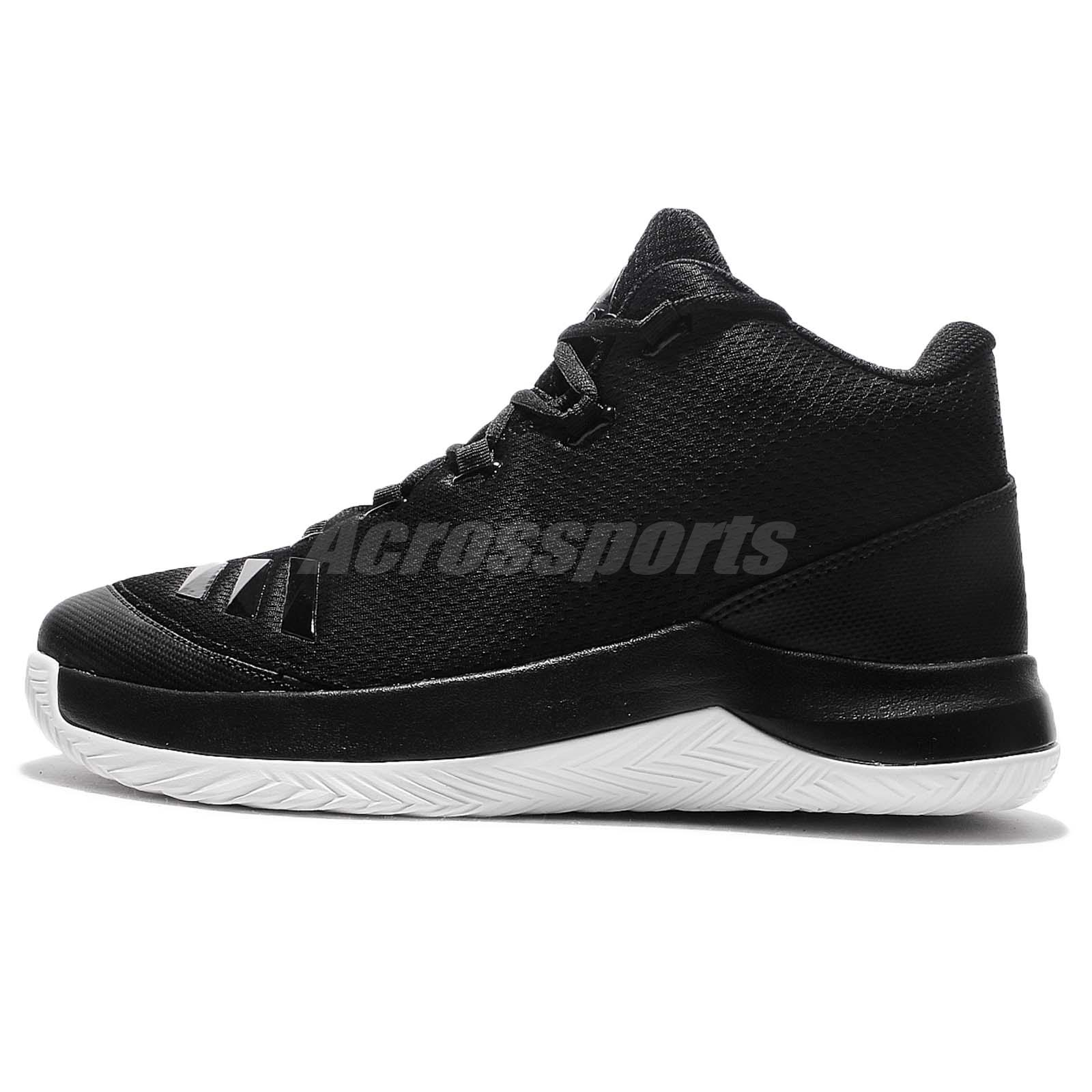 adidas Outrival 2016 Black White Men Top Basketball Shoes Sneakers B54109