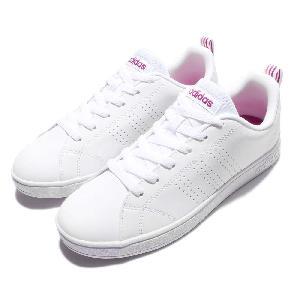 adidas neo label vs advantage clean w white pink women