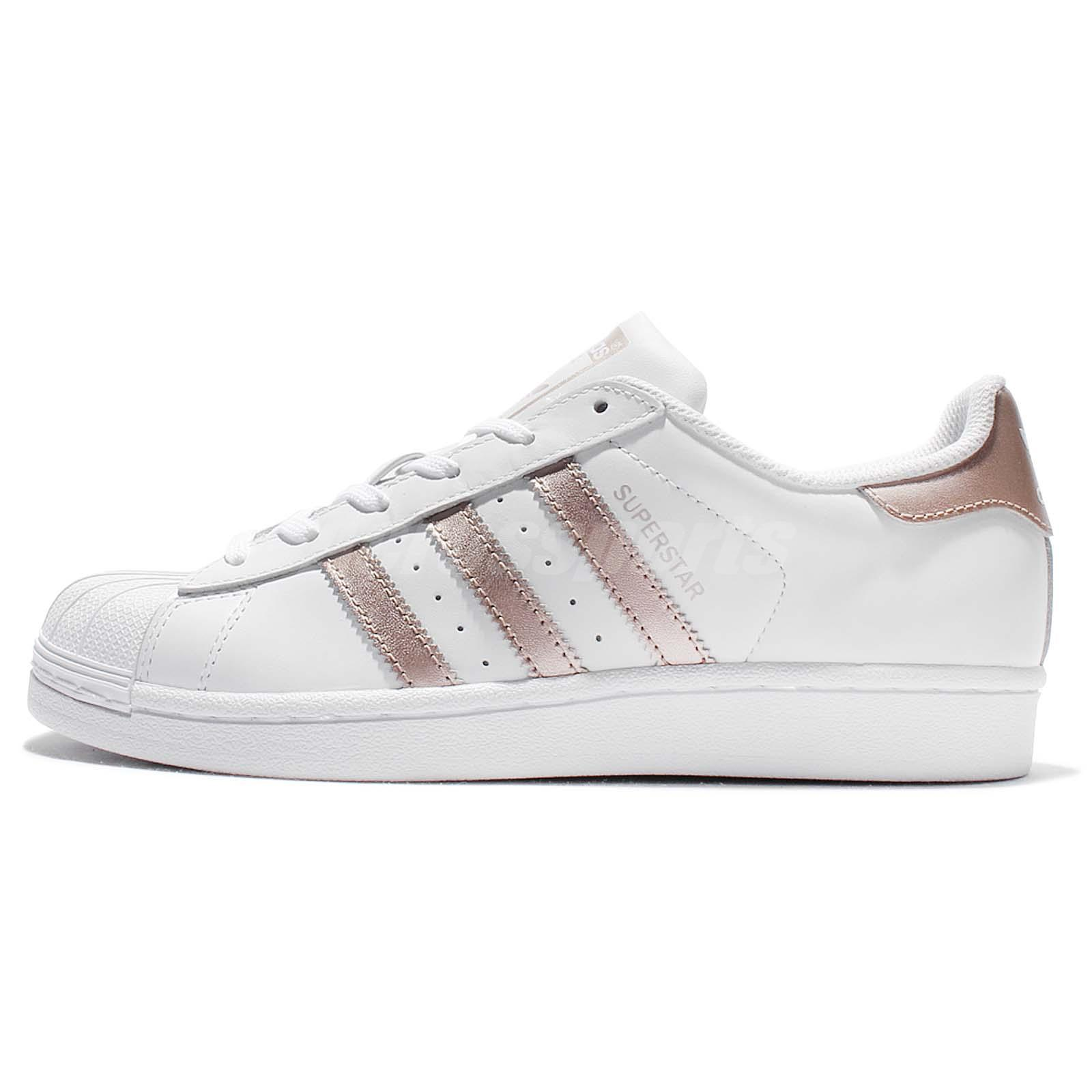 adidas superstar original rose gold women