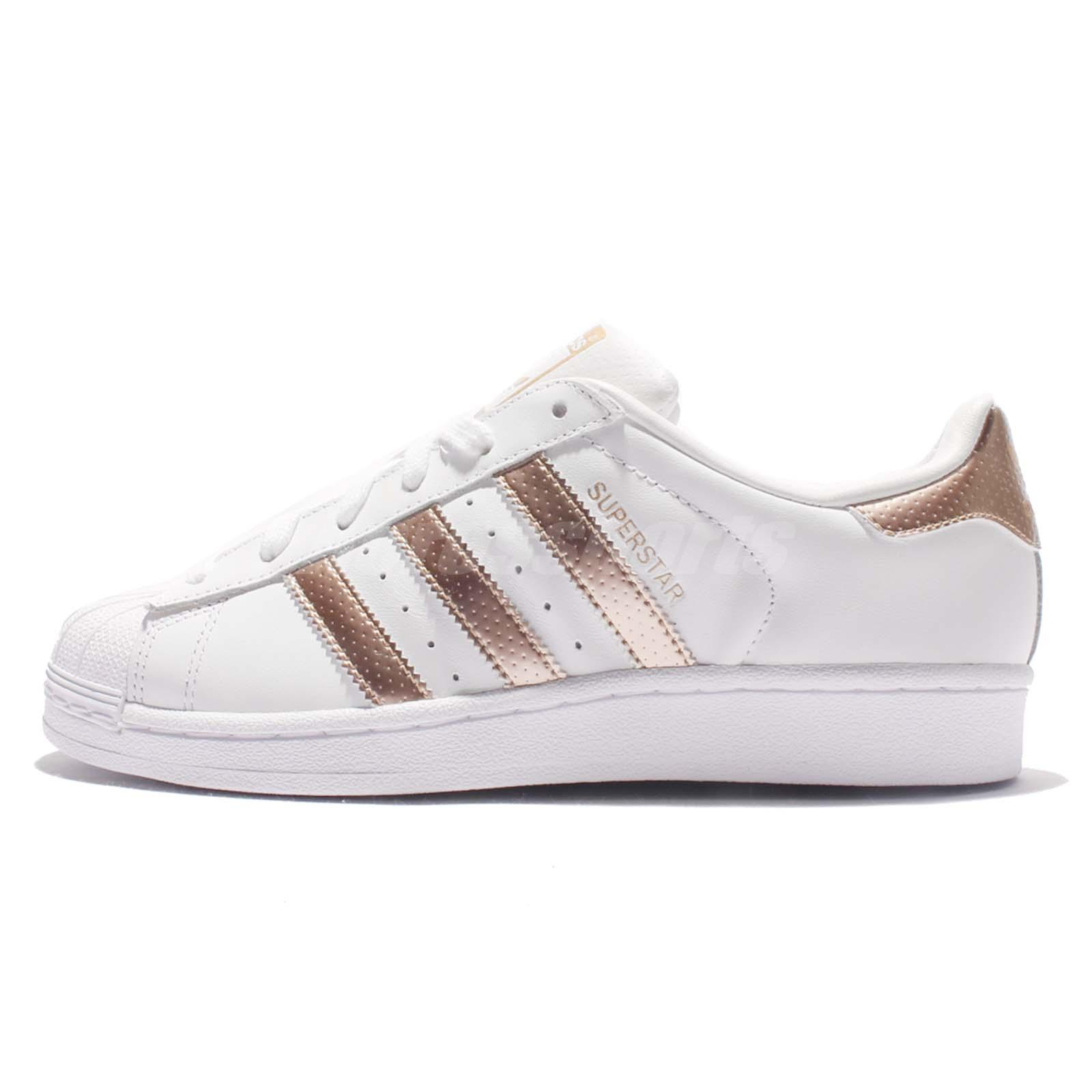 adidas originals superstar w white rose gold women classic. Black Bedroom Furniture Sets. Home Design Ideas