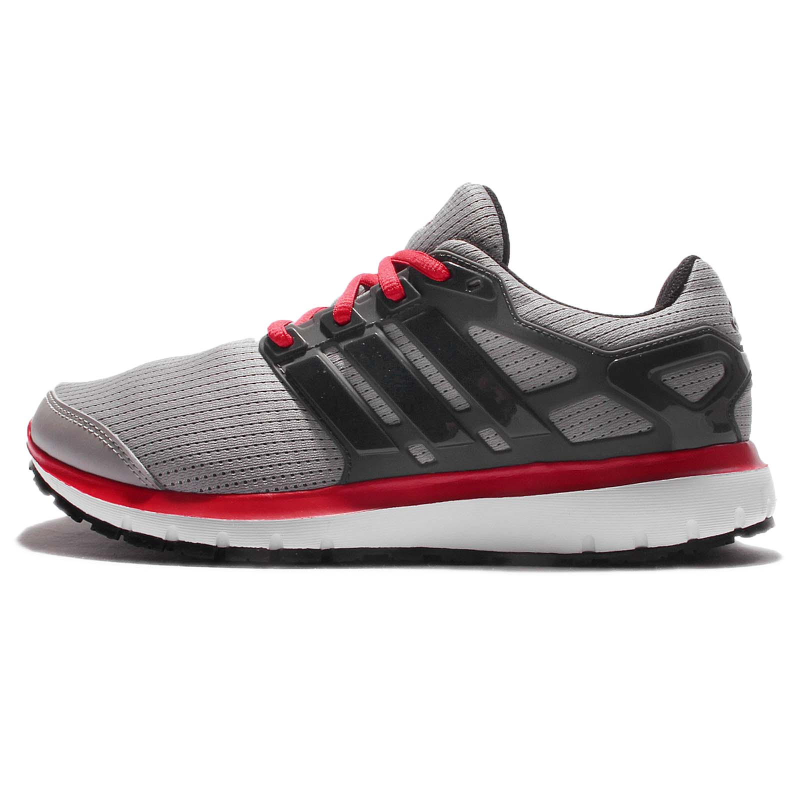 adidas Energy Cloud M Grey Pink Men Running Shoes Sneakers ...