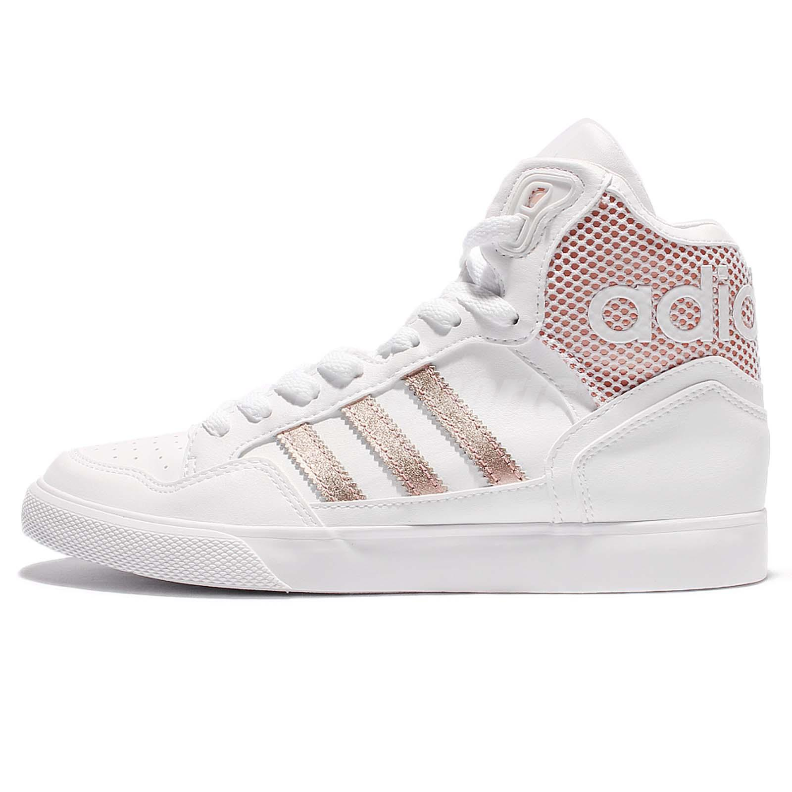 adidas originals extaball w white rose gold women casual. Black Bedroom Furniture Sets. Home Design Ideas