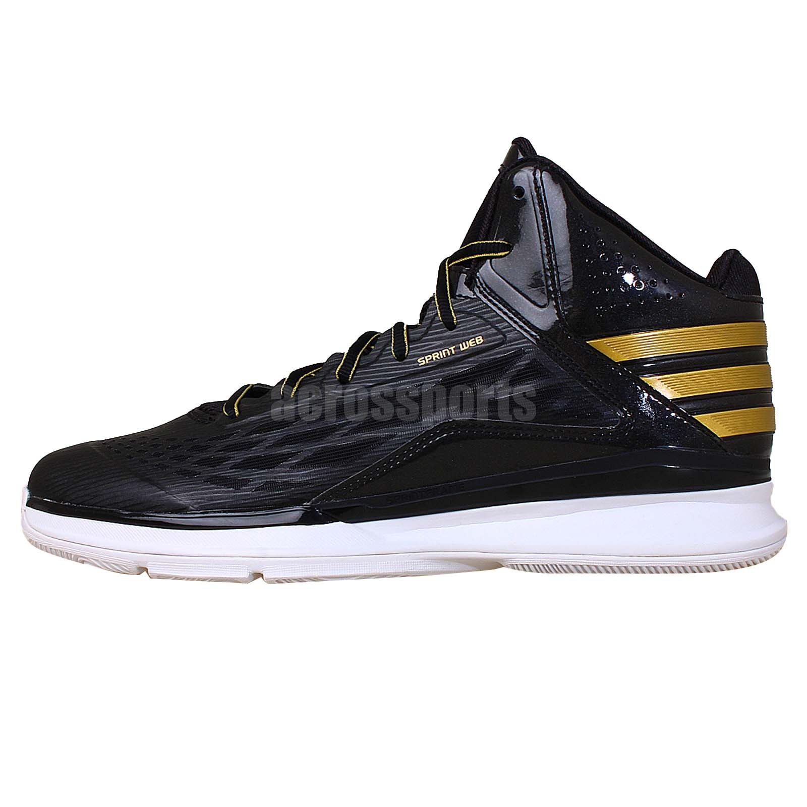 adidas transcend black gold 2014 mens basketball shoes
