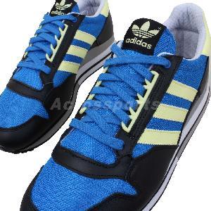 adidas zx 500 blue yellow