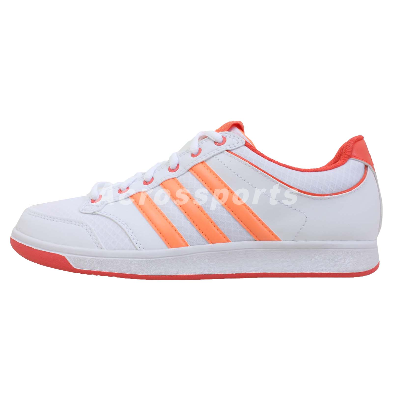 adidas bian 3 w white orange 2014 womens tennis shoes