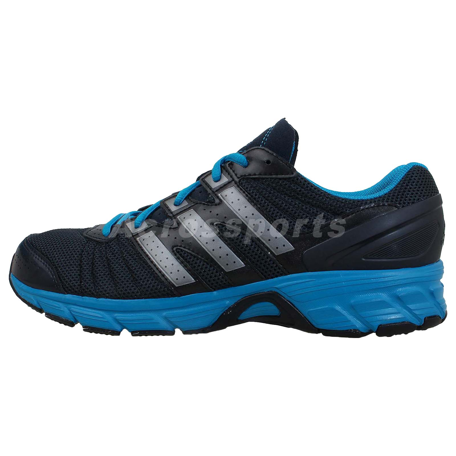 adidas roadmace m black blue 2014 mens running shoes