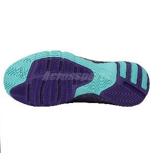 Adidas Crazyquick 3.5 Street Hornets Purple Blue Mens Basketball Shoes  D70072 0afc27199