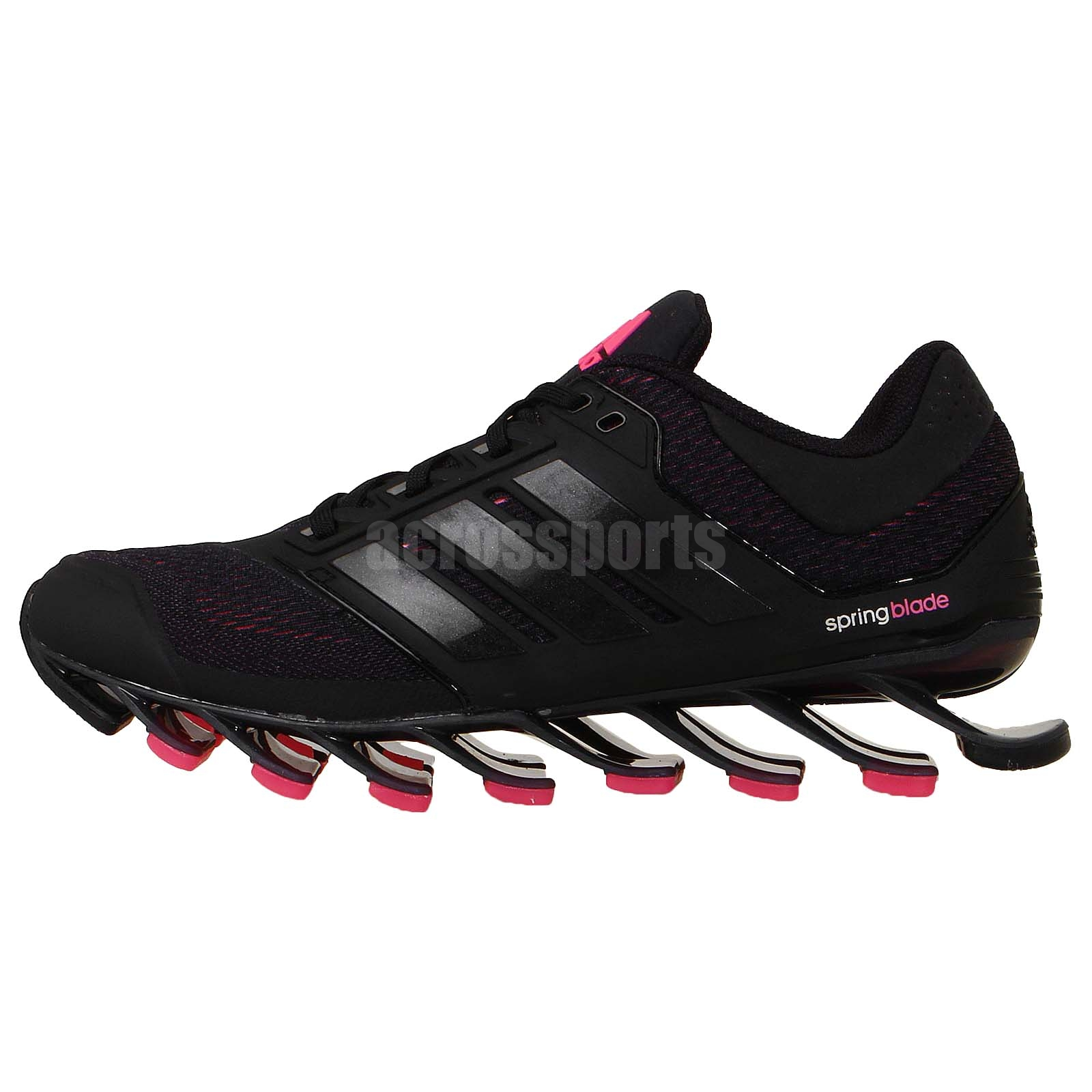 adidas springblade drive w black pink 2014 womens running