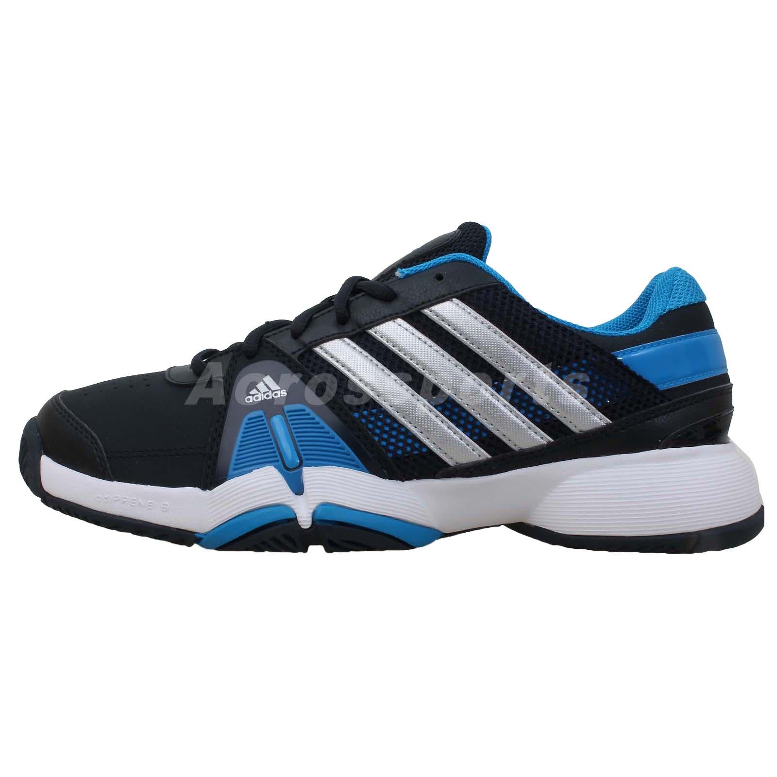 adidas barricade team 3 2014 new black silver blue mens