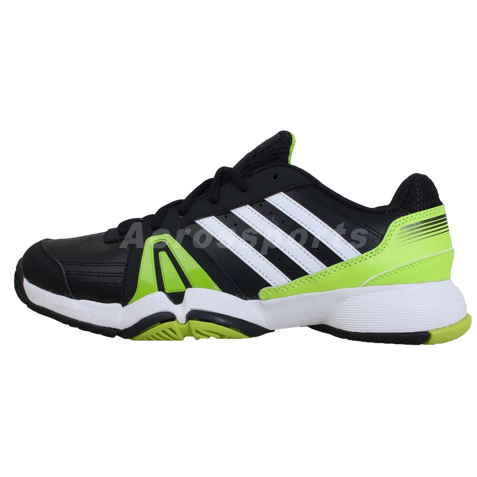 adidas bercuda 3 black white green 2014 mens tennis shoes