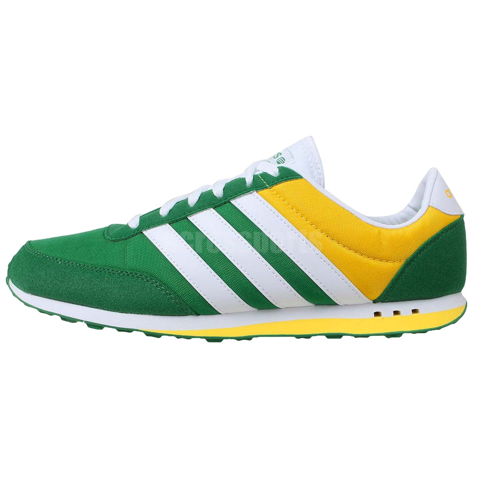 adidas v racer nylon neo label green white yellow 2014. Black Bedroom Furniture Sets. Home Design Ideas