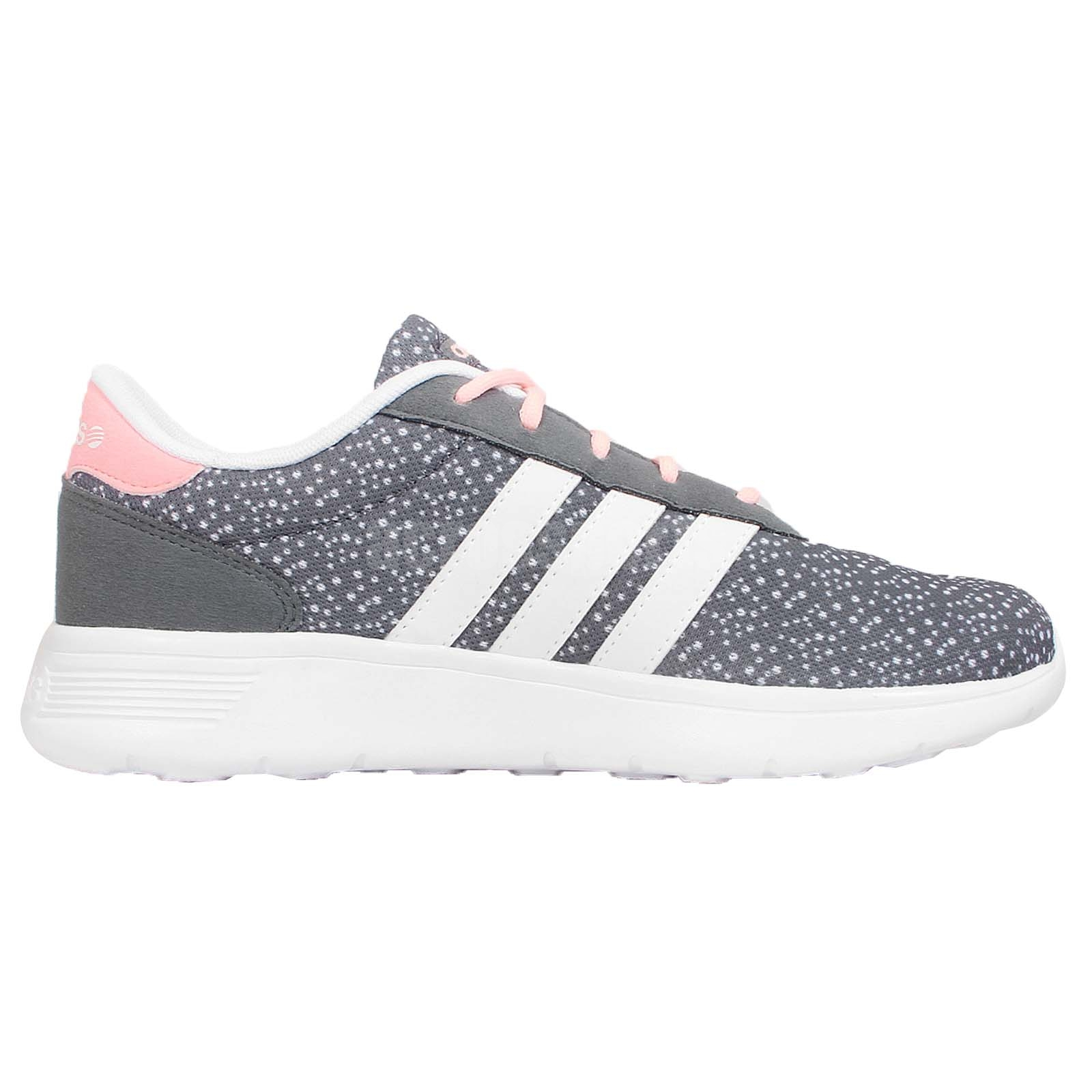 adidas neo lite racer womens grey. Black Bedroom Furniture Sets. Home Design Ideas