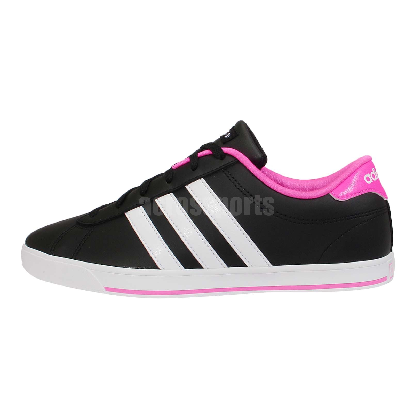 Adidas Neo Black And Pink