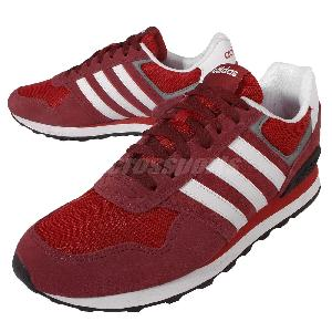 Adidas Neo Red Trainers
