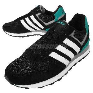 adidas neo black and green