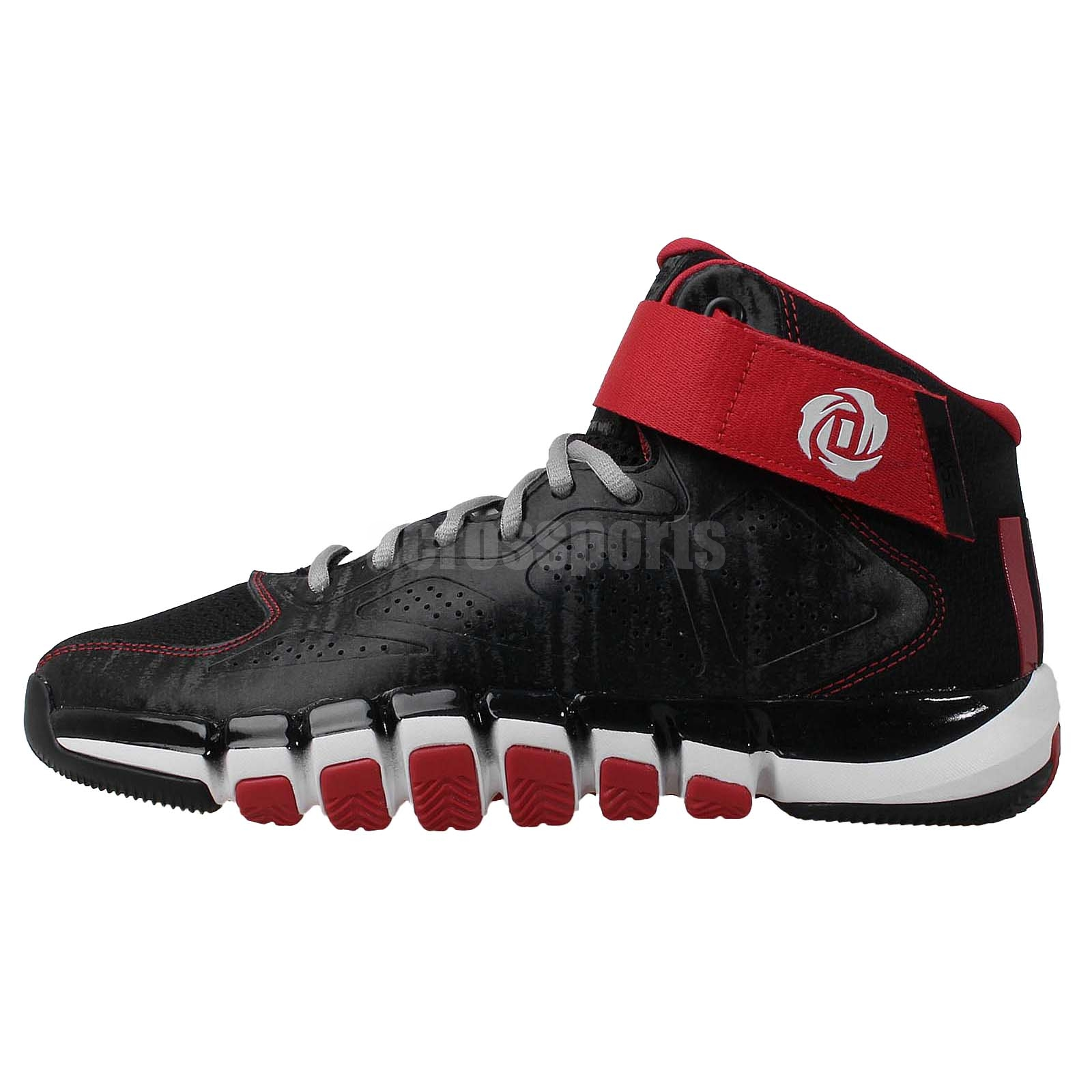 derrick rose shoes red - photo #6