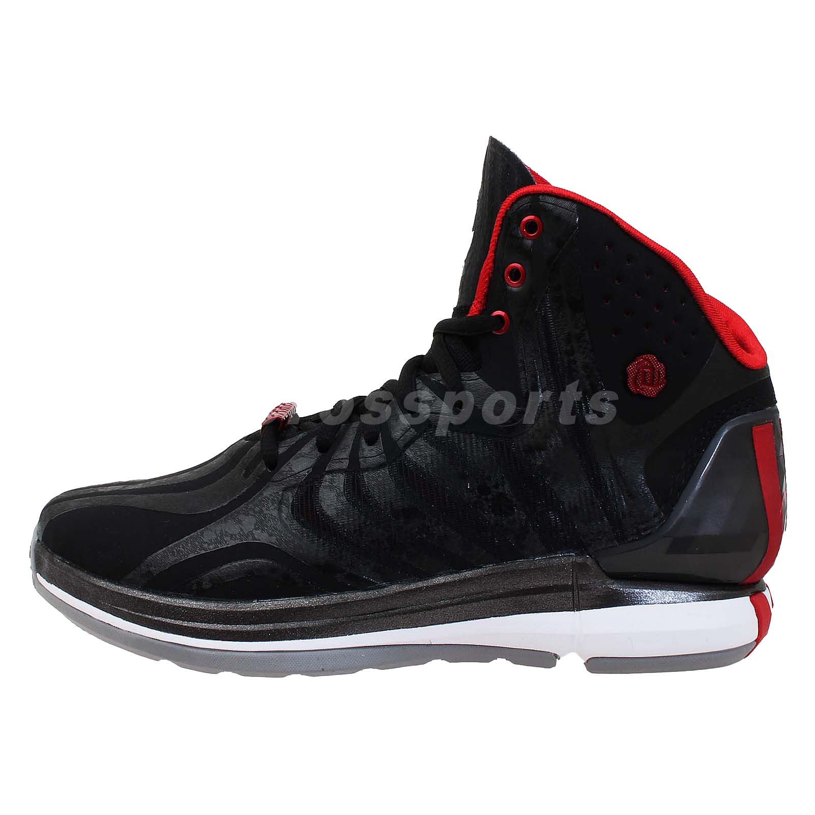 Adidas D Rose 4.5 J Derrick Black Tiger Print Boys Youth ...