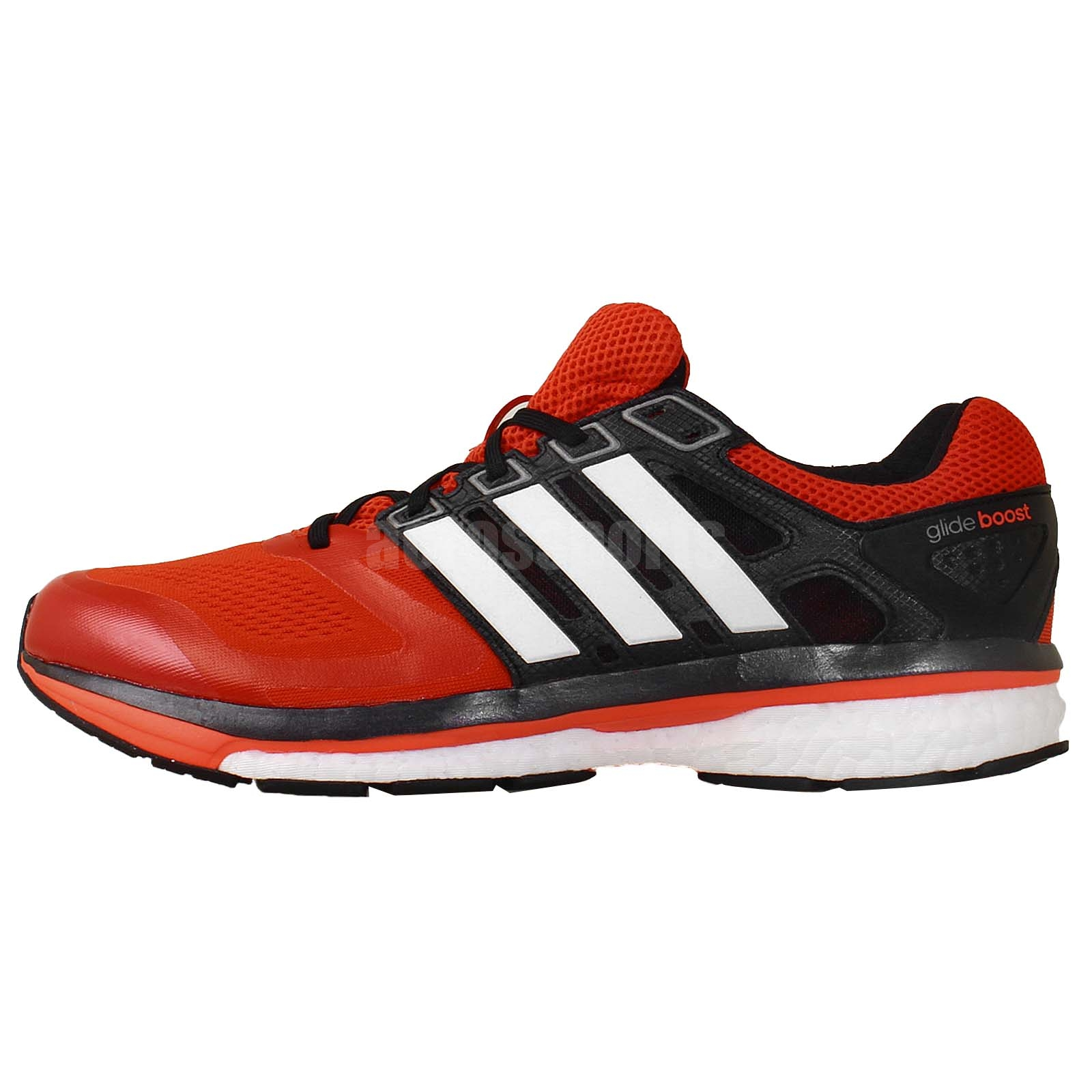 Adidas Supernova Glide 6 M Orange Black Mens Running Shoes Sneakers M17426