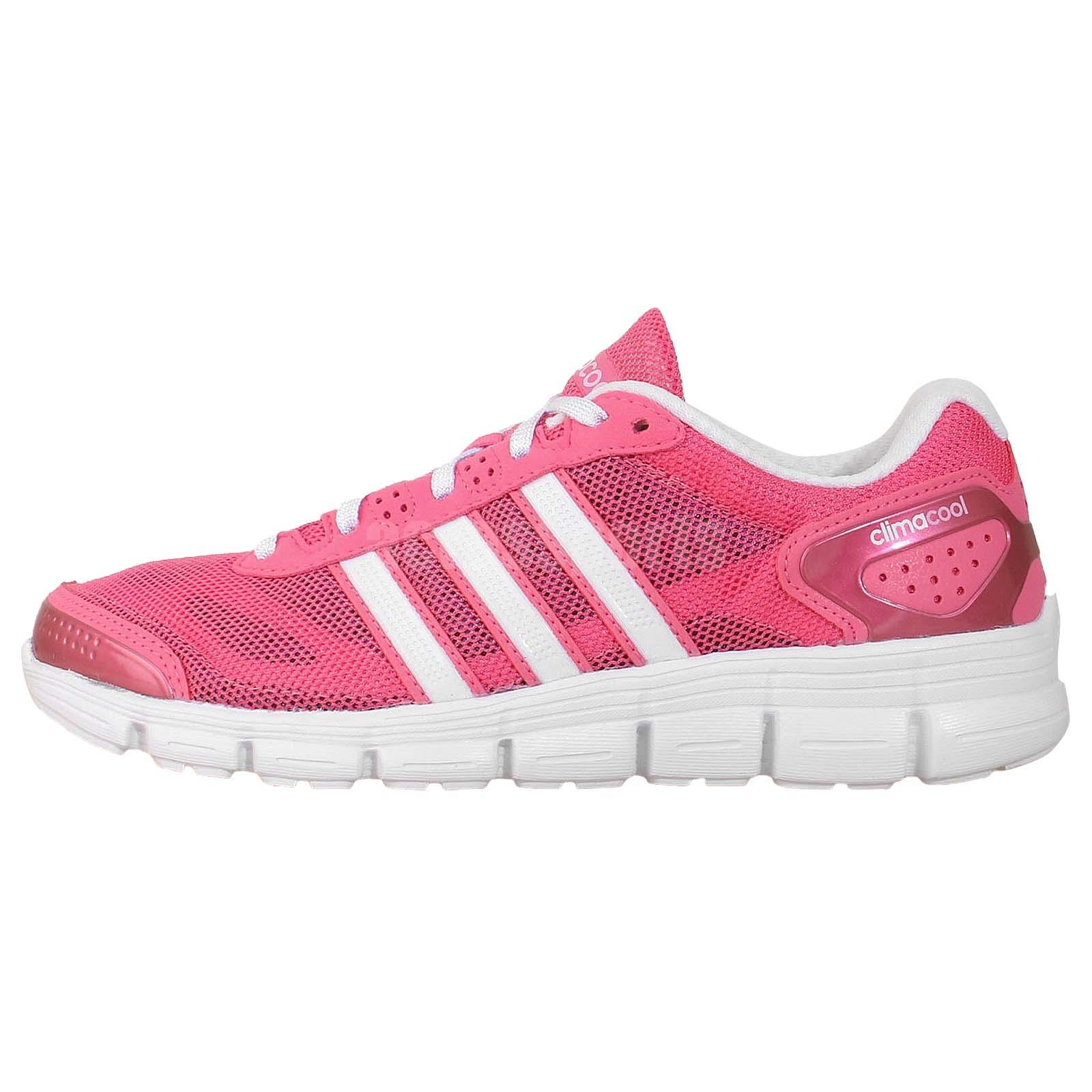 adidas cc fresh w climacool pink white 2014 womens jogging