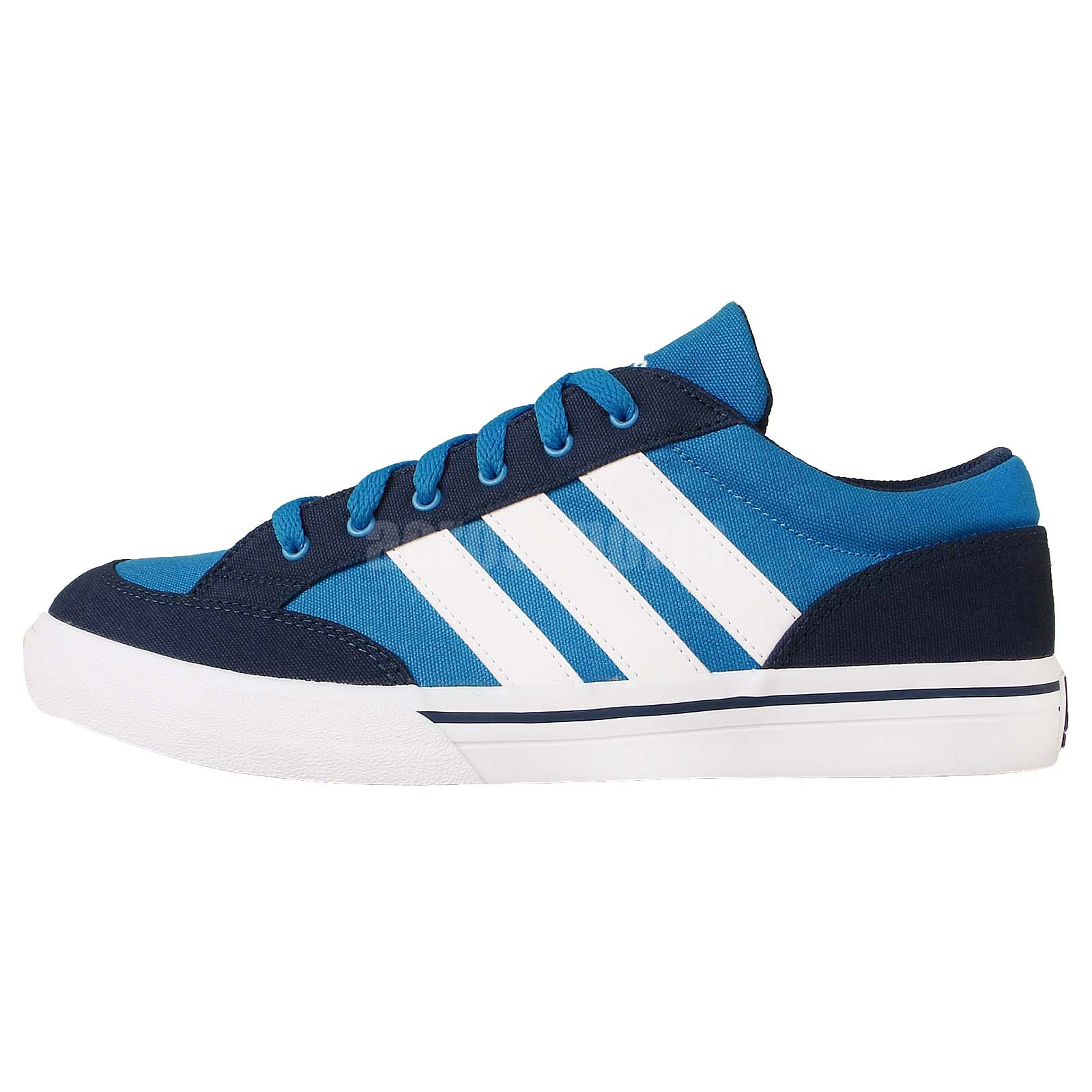 adidas gvp canvas str blue white 2014 mens tennis shoes