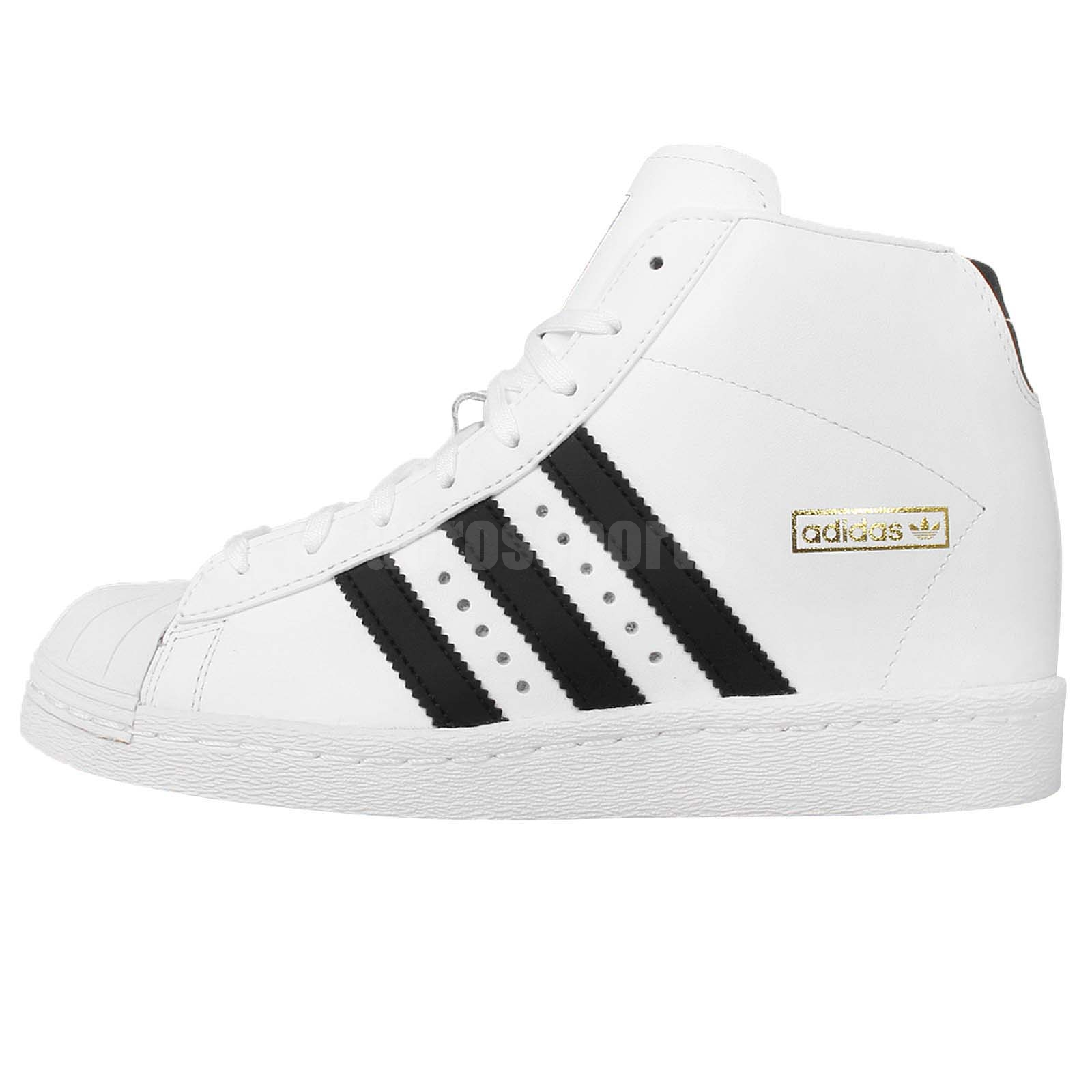 adidas originals superstar up w white black 2015 womens