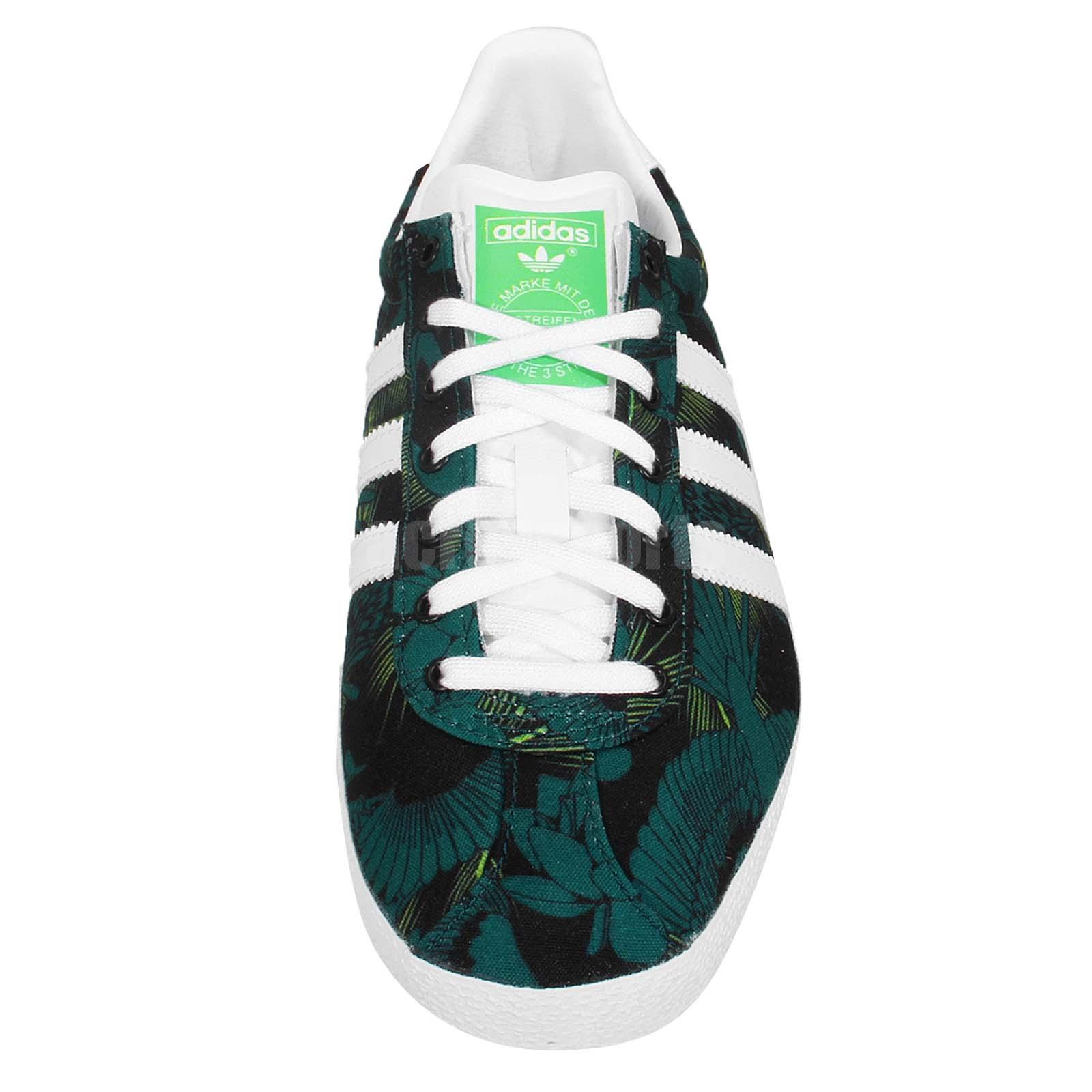 adidas gazelle womens green