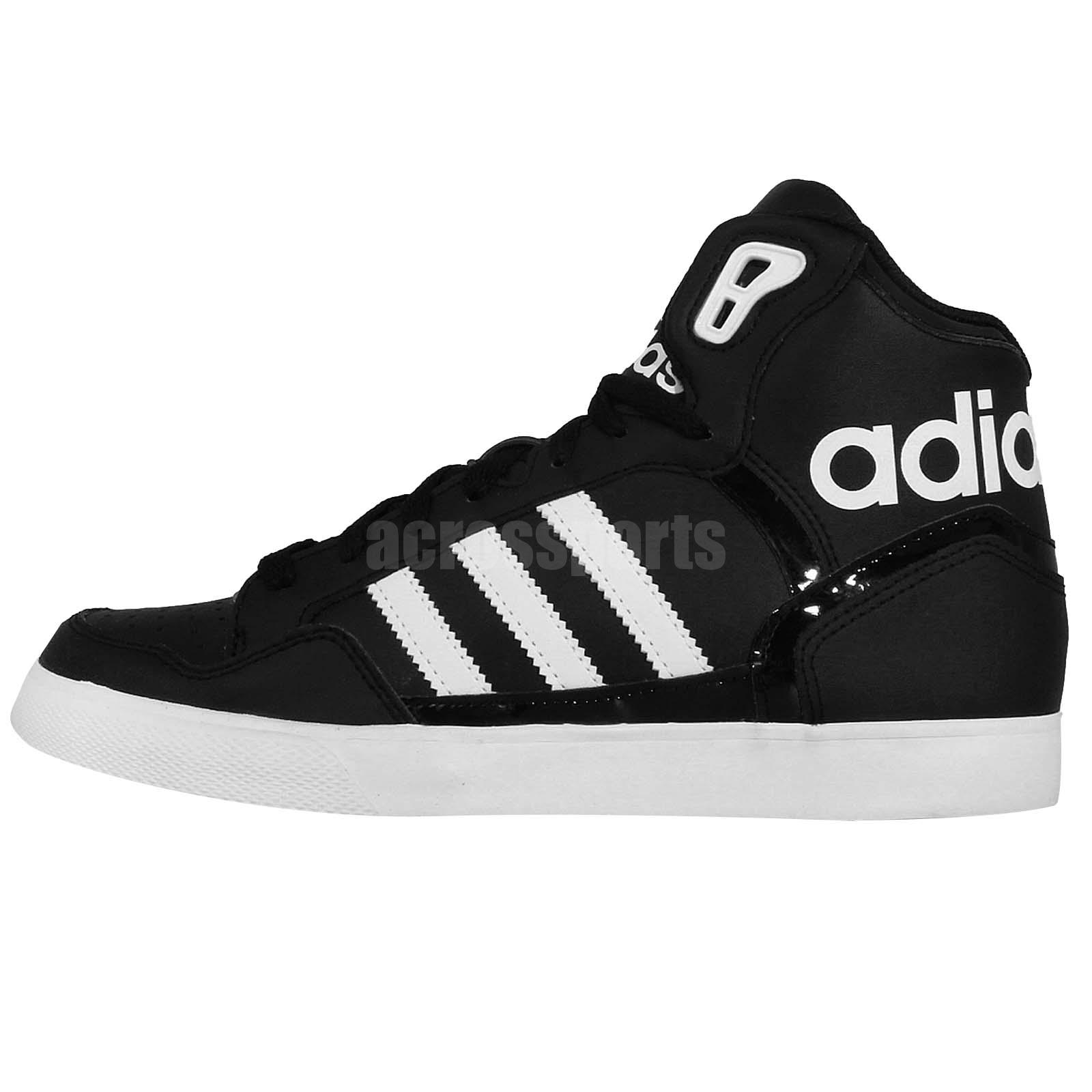 adidas originals extaball w black white 2014 womens casual shoes sneakers ebay. Black Bedroom Furniture Sets. Home Design Ideas