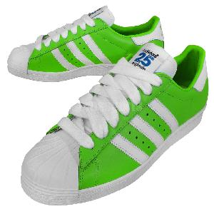 bqvgj Adidas Originals Superstar 80s NIGO Green White Mens Casual Shoes