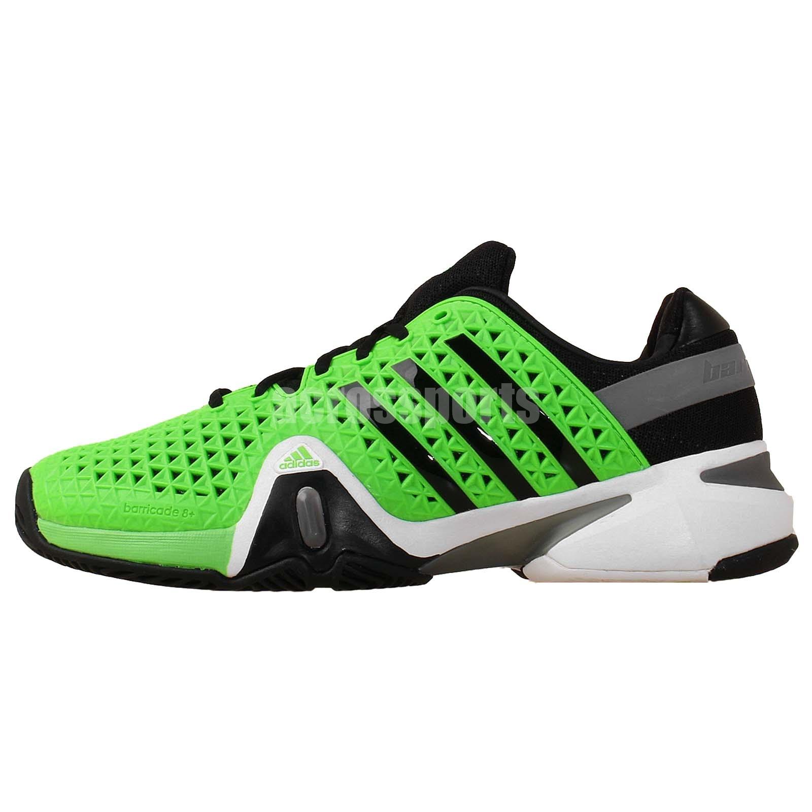 adidas adipower barricade 8 viii green black 2014 mens