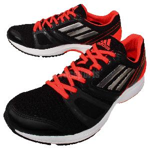 Adidas Adizero ACE 6 Wide Black Red Mens Jogging Running Shoes ...