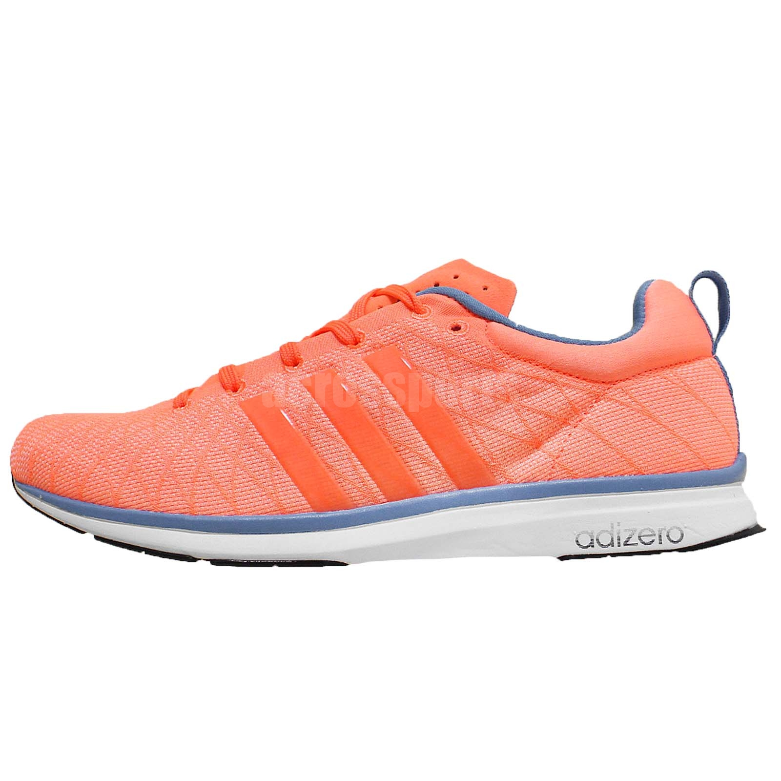 adidas adizero feather 4 w orange blue womens running