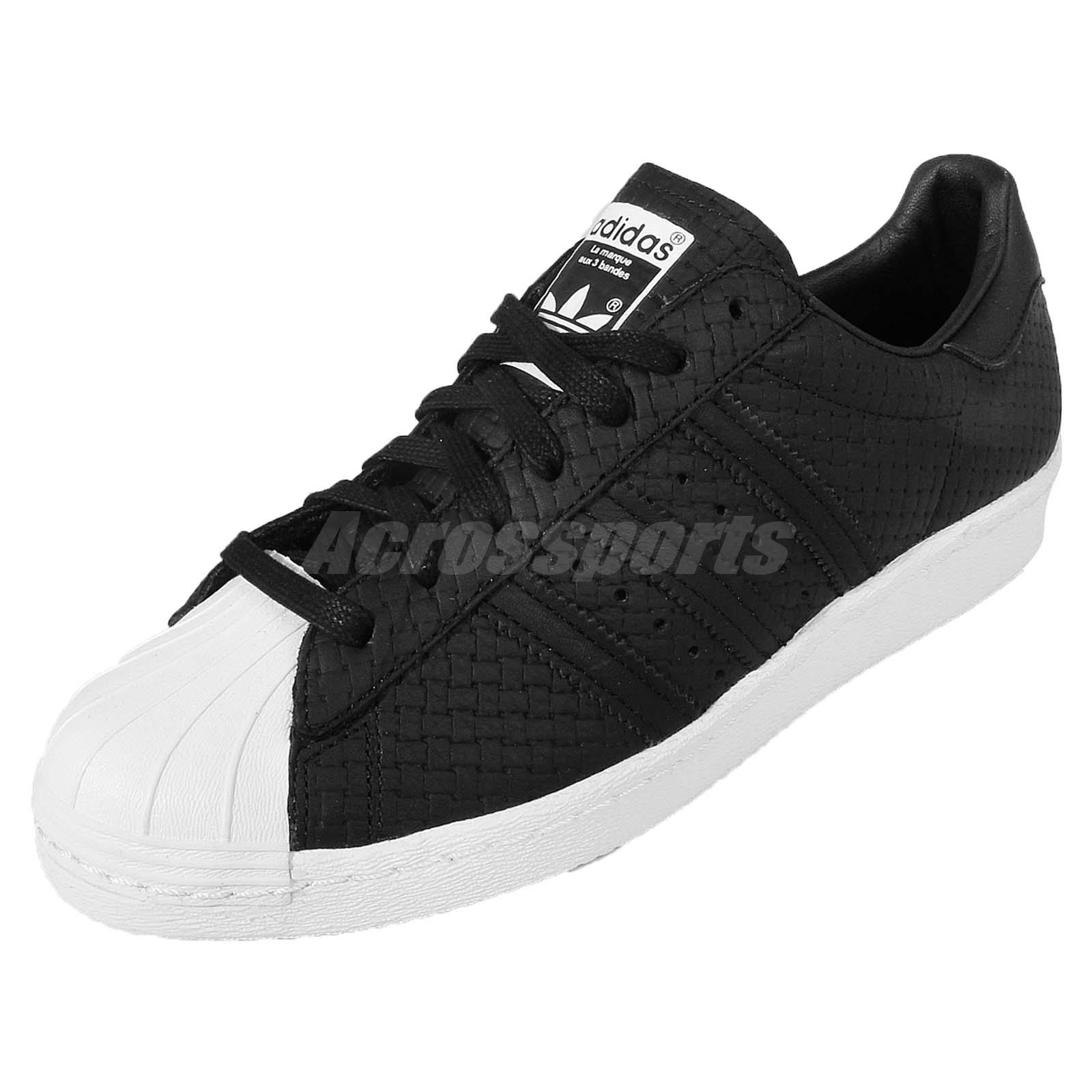 adidas originals superstar 80s men Black